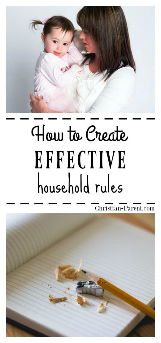 Sample household rules you can use to run your household more smoothly.