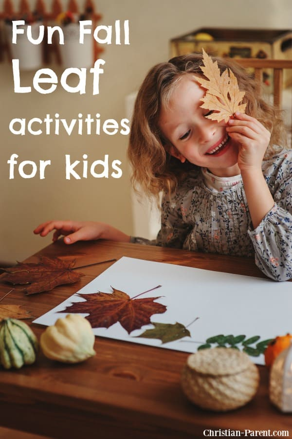 Fun fall leaf activities and easy fall crafts for kids of all ages.