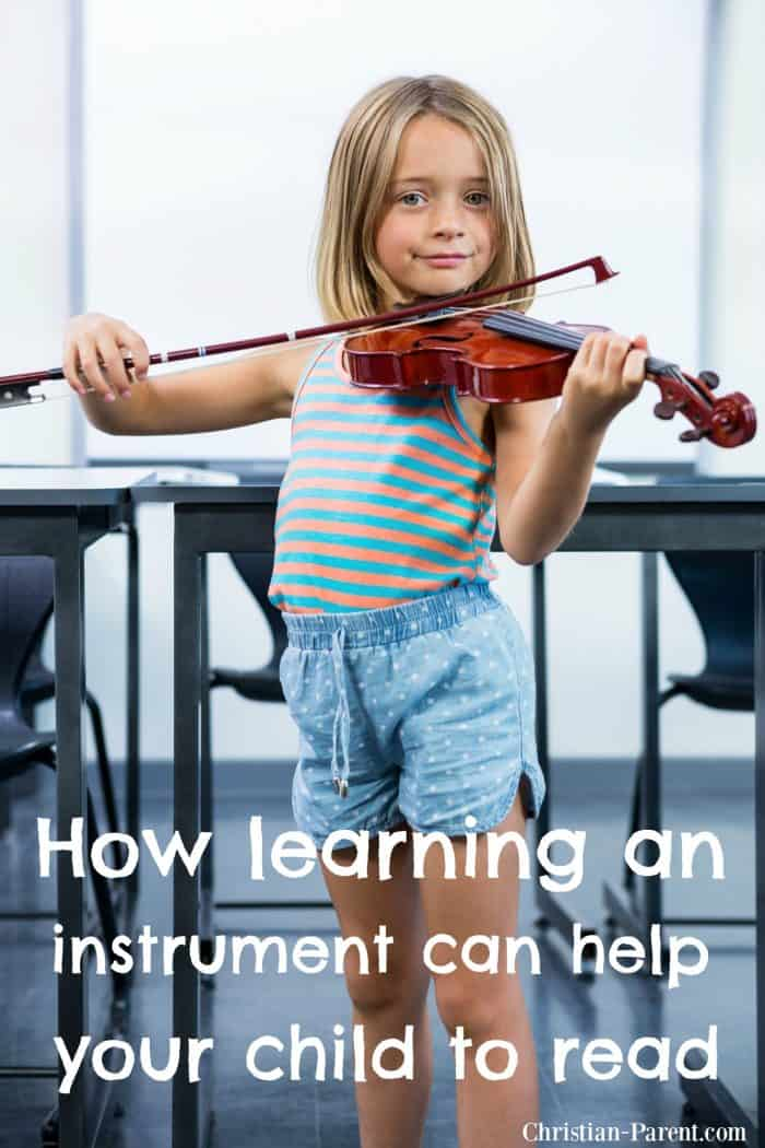 How learning an instrument can help your child learn to read.