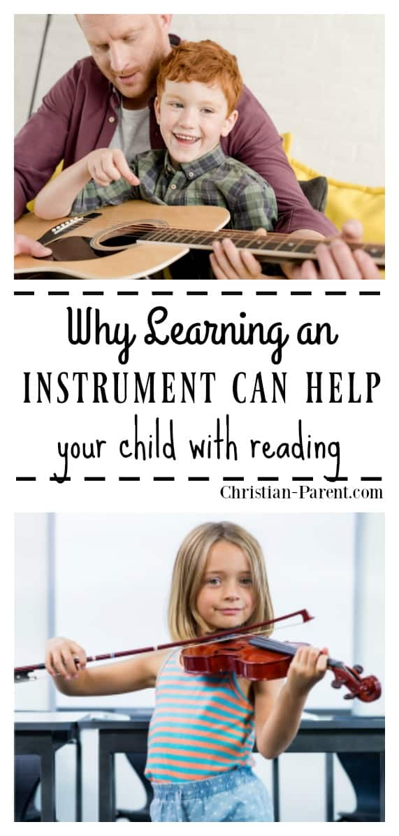 How learning and playing an instrument can help your child learn to read.