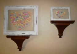 Framed Conversation Hearts