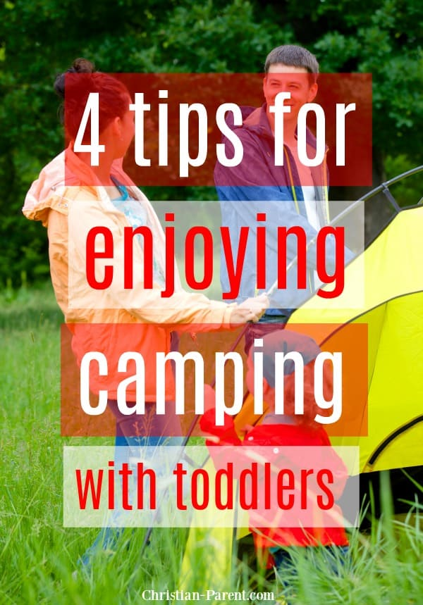 Fun ideas and camping hacks to save your sanity while camping with toddlers.