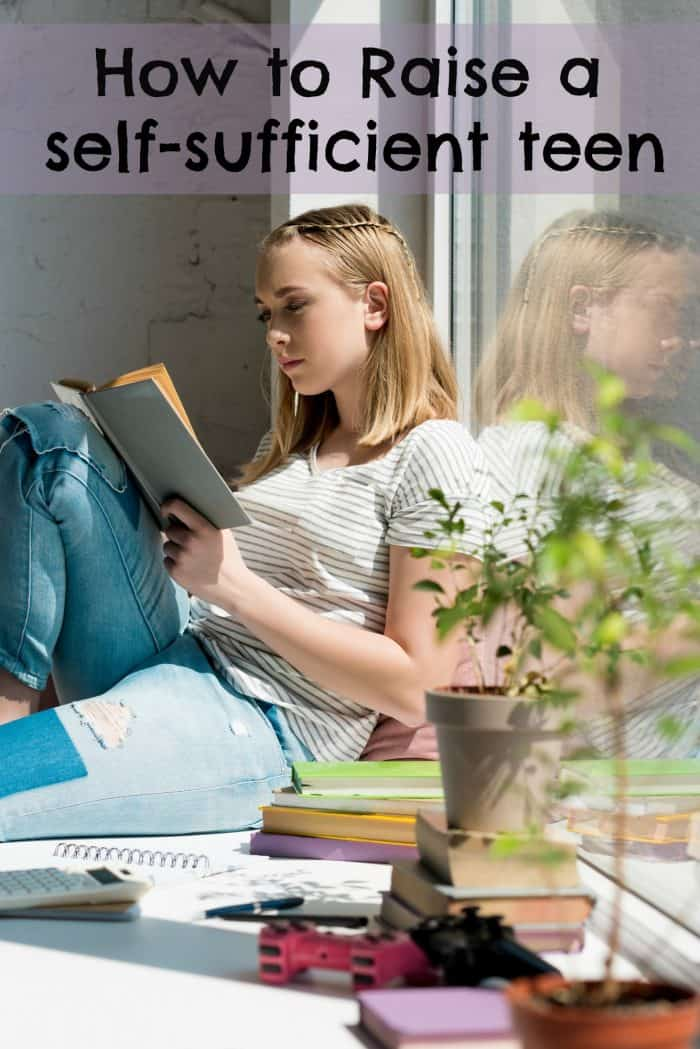 The importance of raising teenagers to be more self sufficient by giving them additional responsibilities. Starting now will make the transition to adulthood much more easy!