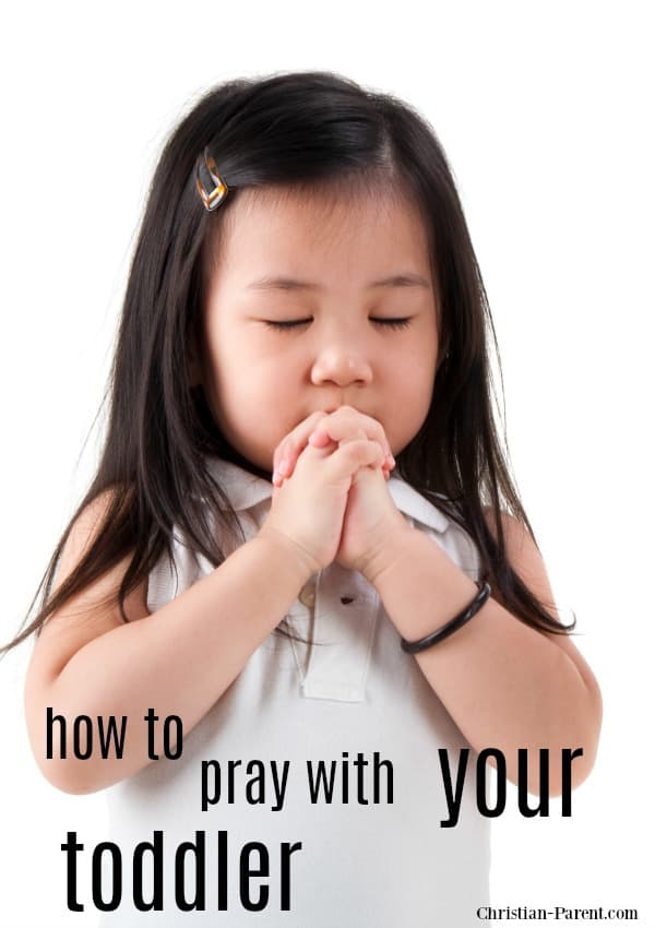 Small Asian girl praying