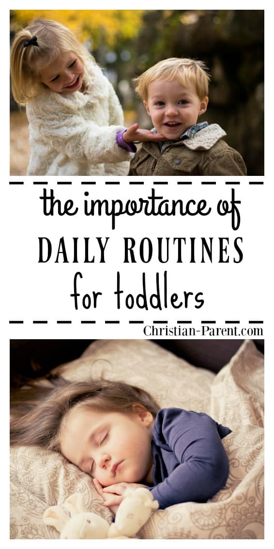 The importance of establishing a daily routine for your toddler, and how to get started creating a daily routine that works for you.