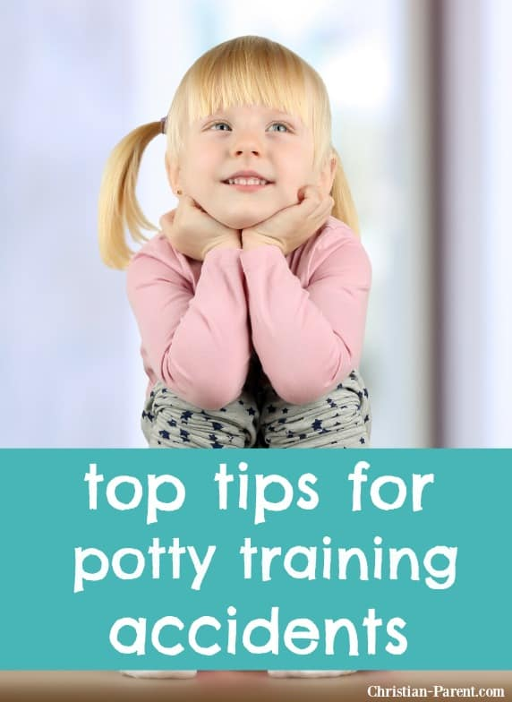 Tops tips for helping your toddler prevent potty training accidents.