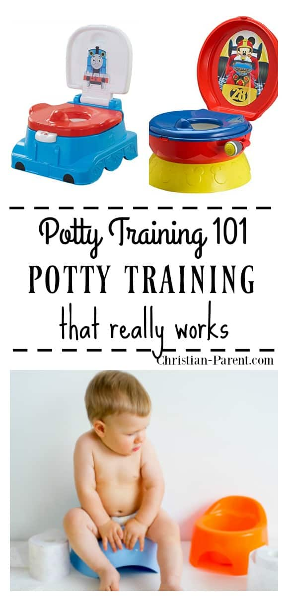 If your child is showing signs of wanting to potty train, use this easy tip one mom used to get her toddlers completely potty trained.