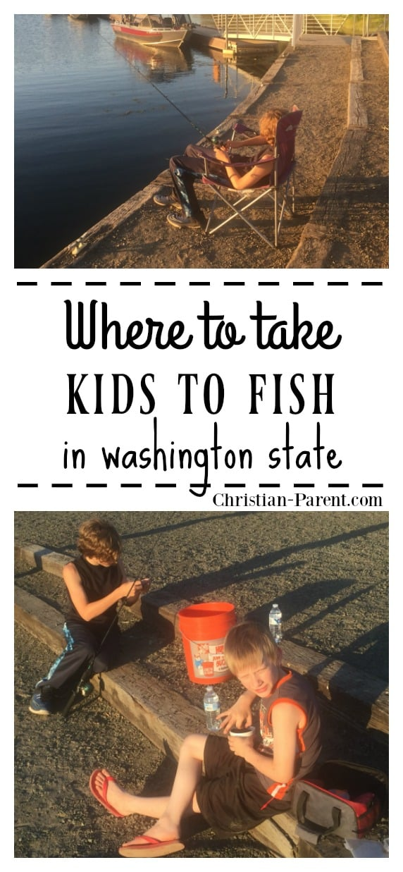 Great family-friendly places to take your kids fishing in Eastern and Western Washington State.