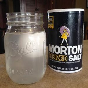 Easy science experiment to show kids why things like eggs float more easily in salt water.