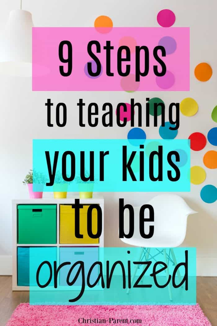 Time management for kids! Tips for encouraging and teaching your children to be organized from a young age so that they will be successful later in life.