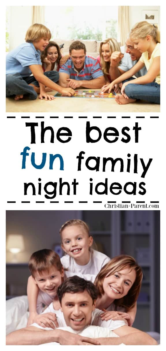These fun family night ideas, games, and activities will help you get started on weekly family fun nights.