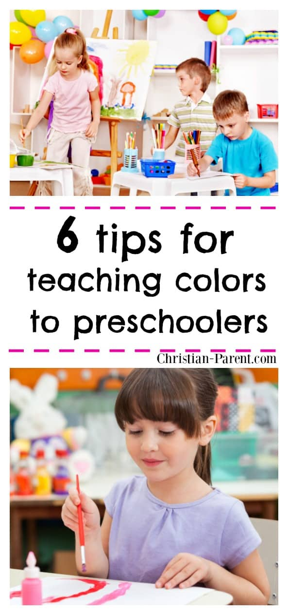 Fun preschool activities for introducing and teaching colors to children.