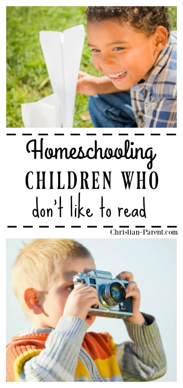 Homeschooling kids who don't like to read? Here are some hands-on learning activities that will help inspire your kids who hate to read.